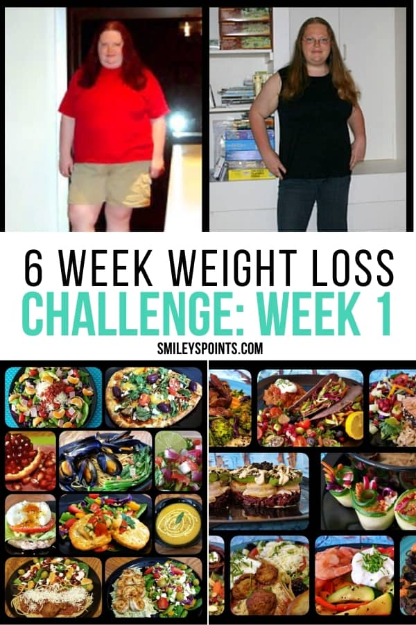6 Week Weight Loss Challenge Week 1 With Dumpy To Diva Smiley S Points