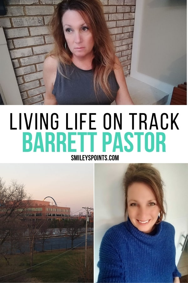 Living Life On Track Collage. Barrett Pastor