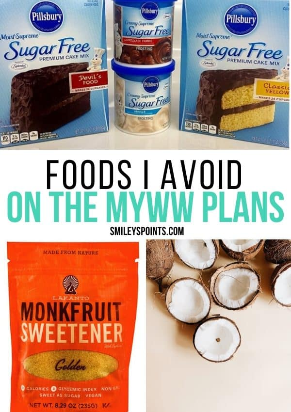 Foods I Avoid on myWW