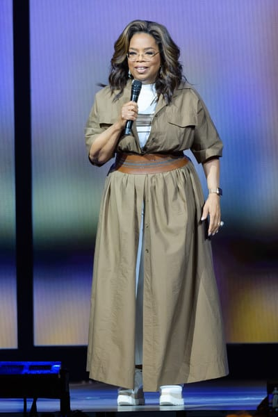 Oprah Winfrey on Stage in Florida