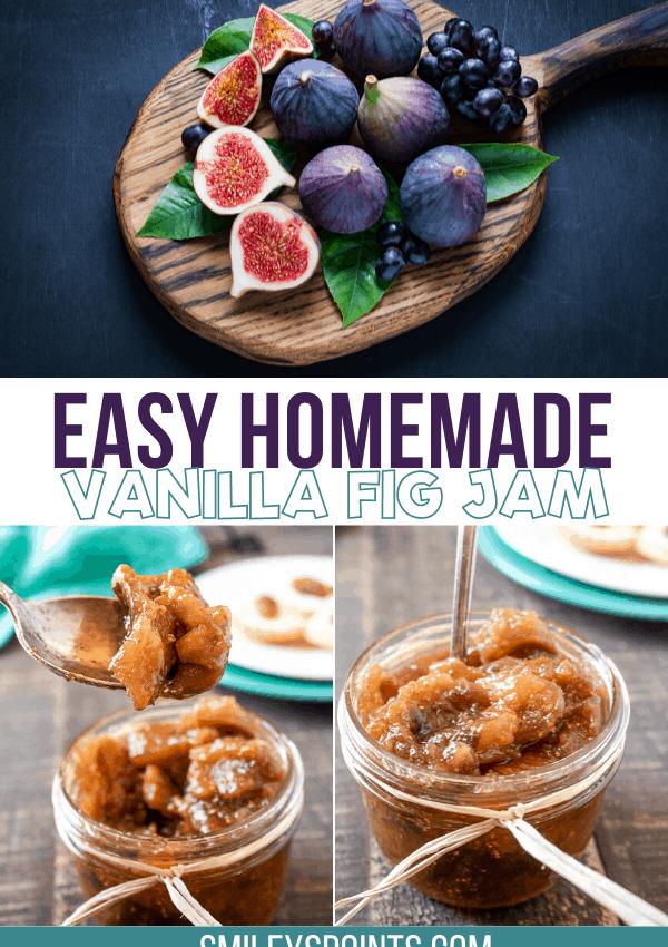 Easy Homemade Vanilla Fig Jam Recipe