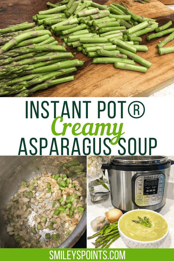 instant pot creamy asparagus soup recipe