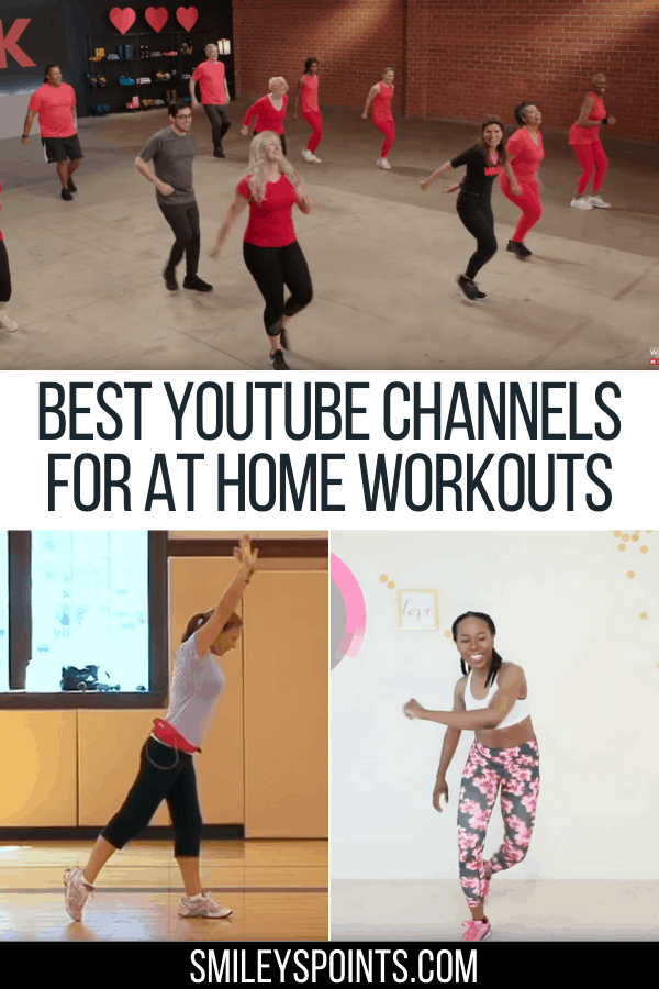 workout channels youtube