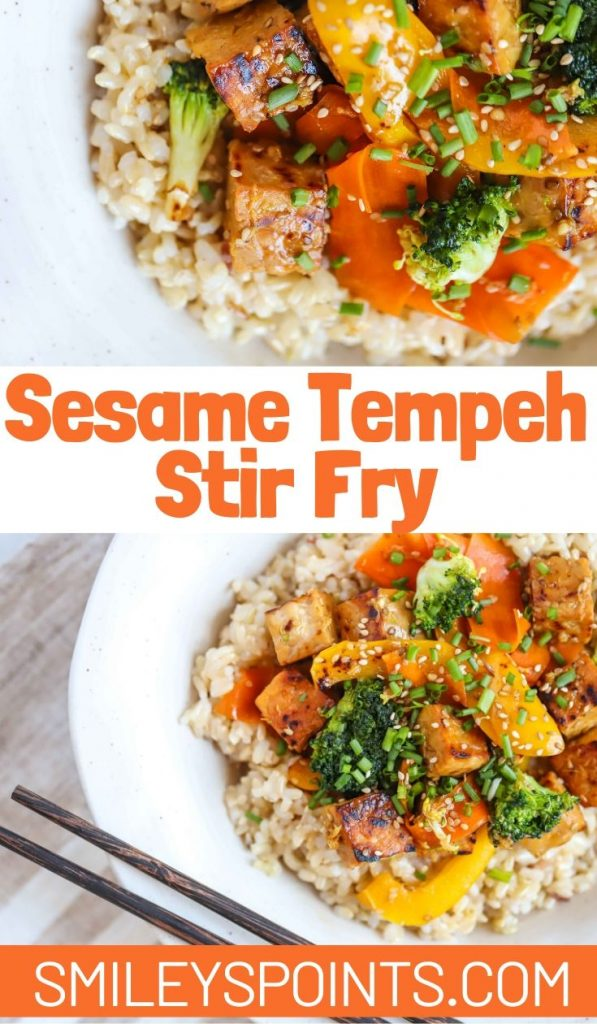 Sesame Tempeh Stir Fry