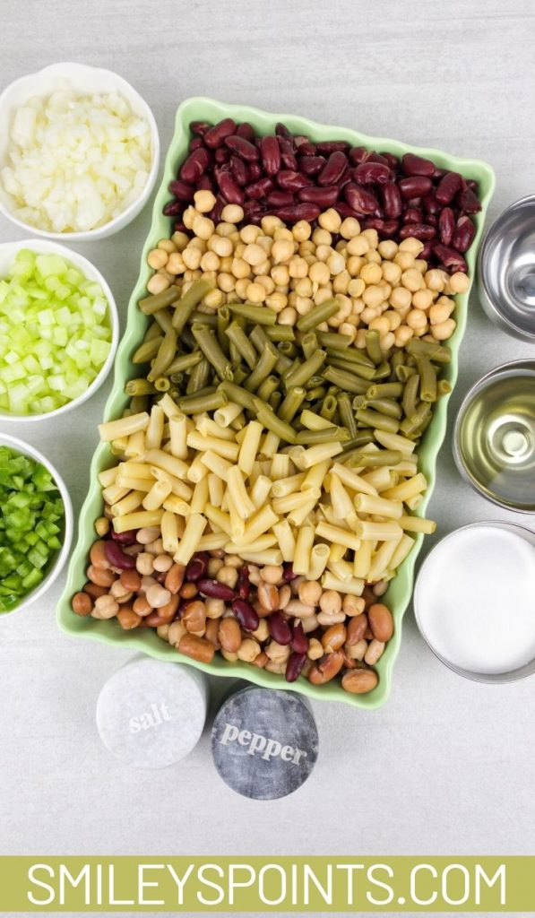 easy mixed bean salad