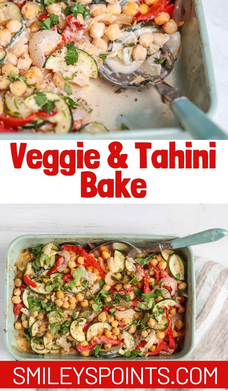 Vegetable and Tahini Tray Bake