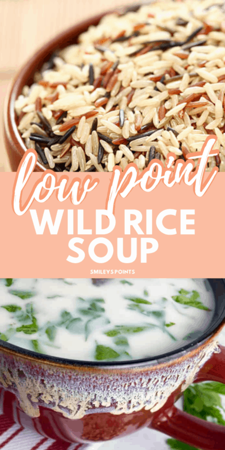 low point wild rice soup