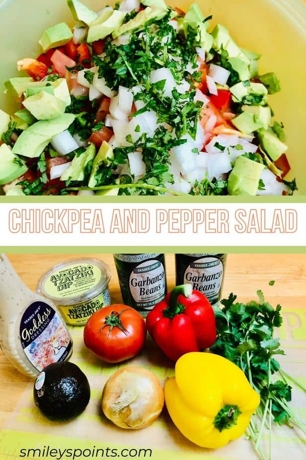 Chickpea and Pepper Salad