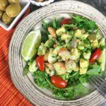 keto avocato shrimp salad